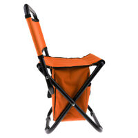 Outdoor Portable Folding Chair Seat Stool for Camping Fishing Picnic Beach