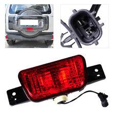 Red Rear Spare Tire Cover Fog Light Lamp Fit For Mitsubishi Pajero Shogun 07-15