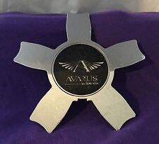 Avarus AV5 by Savini Chrome Center Cap Set of One (1) pn: Cap M-345-2 M-345-1