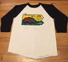 Vintage 1984s Pennsylvania Dutch IX 50/50% Bantam Baseball Tee T-Shirt. Size S