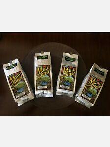 4 Bags 100% Maui Coffee Co Whole Bean / Ground Fresh from Hawaii