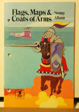 Flags, Maps & Coats of Arms Stamp Album, USPS, 1974, Scott Publishing