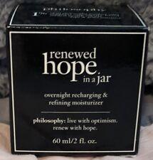 FRESH, BNIB Philosophy Renewed Hope in A Jar Overnight 2oz 60ml