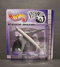 "Custom HotWheels and package of  Passenger Plane from  ""Movie Metal"" AIRPLANE"