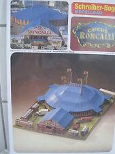 Circus Roncalli Zirkus Schreiber-Bogen Kartonbausatz *NEU* Bastelbogen