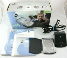 Palm m515 Handheld Pda with Charger, Cover, Software Cd, Manual in Box Read