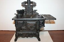"LARGE VINTAGE ""CRESCENT"" CHILDS CAST IRON STOVE"
