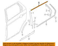 LAND ROVER OEM Discovery Sport Exterior-Rear-Upper Molding Trim Left LR058486