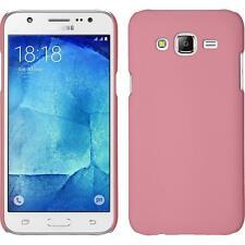 Funda Rígida Samsung Galaxy J5 (2015 - J500) - goma rosa + protector de pantalla