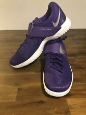 Nike Zoom Live Purple White Low Top Sneakers Shoes Men's Size 14.5 902590-501