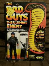 REMCO THE BAD GUYS CODE NAME SCORPION ULTIMATE ENEMY OF SGT ROCK MOC