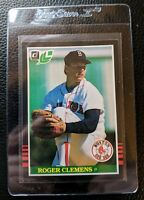 1985 LEAF #99 ROGER CLEMENS ROOKIE CARD RC BOSTON RED SOX NEAR MINT PLUS