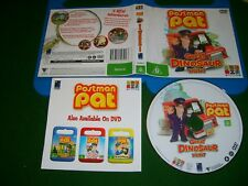Dvd *POSTMAN PAT:GREAT DINOSAUR HUNT - 4 ADVENTURES* 2006 ABC For Kids Issue  R4