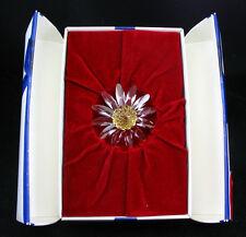 Swarovski Crystal Scs Renewal ~ Yellow Marguerite ~ Mint In Box