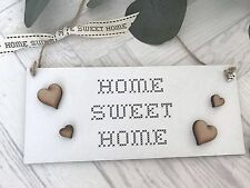 Home Sweet Home  Gift Shabby Chic Plaque Sign S31