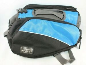 Outward Hound Explore Pack for Dogs Blue Small back pack