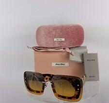 Brand New Authentic MIU MIU SMU 02R 7S0-0A3 Sunglasses Tortoise Frame
