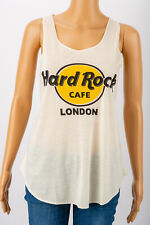 HARD ROCK CAFE LONDON Vest Top T-Shirt Womens Sleeveless Top One Size Fits All