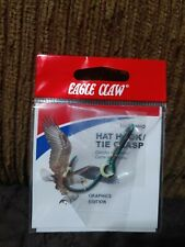 """New listing New Eagle Claw Original """"Camo� Fish Hook Hat Pin/Money Clip/Tie Clasp."""