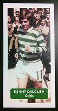 Écosse-Celtique-Kenny Dalglish Score UK Football Trade Card