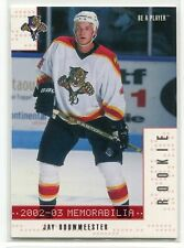 2002-03 BAP Memorabilia Ruby 274 Jay Bouwmeester Rookie 115/200