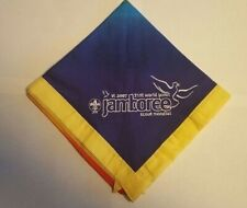 2007 World Jamboree Participants yellow border Neckerchief  (2019)