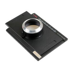 Digital Back Adapter Converter Canon DSLR EOS T5 T7 5D 80D To 4x5 Linhof Camera
