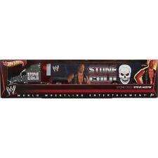NIB Hot Wheels WWE Wrestling STONE COLD STEVE AUSTIN Semi Truck Trailer Hauler
