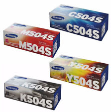 SET Samsung Genuine CLT-K504 CLT-C504 CLT-M504 CLT-Y504 For CLP415 CLX4170
