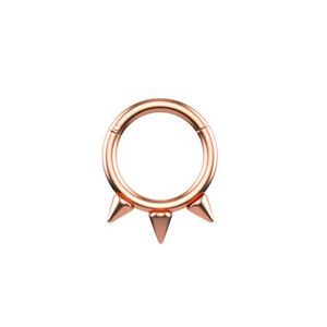 Cartilage Earring Spiked Septum Ring Nostril Piercing Surgical Steel Nose XE