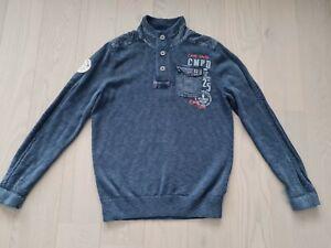 Herren Strickjacke Pullover von Camp David, Gr L, Farbe Blau (#1)