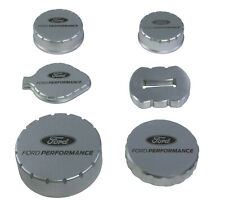 NEW OEM 2015-2019 Ford Mustang Billet Engine Cap Set Laser Engraved