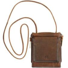 STS Ranchwear Brown Leather Baroness Euro Cross Body Purse STS34035