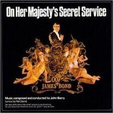 ON HER MAJESTY'S SECRET SERVICE (REMASTER) CD OST NEU