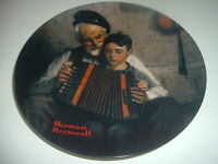 Norman Rockwell The Music Maker Plate 1981 Vintage