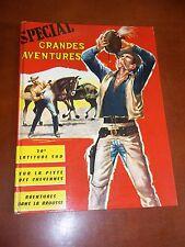 """BD """"LES GRANDES AVENTURES -  RELIURE NO 5"""" VAILLANT / ANNEES 1960"""