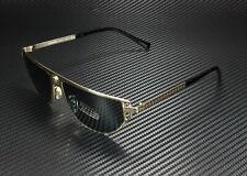 VERSACE VE2213 100287 Gold Grey 57 mm Men's Sunglasses