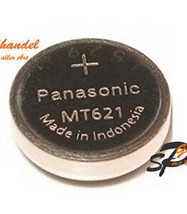 Panasonic Akku Kondensator für Solaruhren Typ MT621 Citizen Ecodrive ohne Fahne