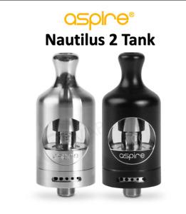 Aspire Nautilus 2 Vape E-Cig Replacement Tank Atomiser & Coil - UK GENUINE STOCK
