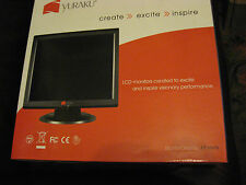"HARDLY USED YURAKU MA7BBA 17"" LCD MONITOR IN BOX."
