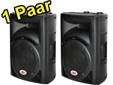 1200  Watt  Profi- Dj- BOX---MONITOR BOXEN--- KUNSTSTOFFGEHÄUSE PAARPREIS !!