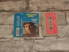 JACQUES BREL - Vol 2 / Cassette Album Tape / 1st Issue Paperlabel / 3953