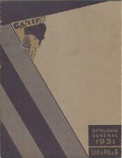 Catalogue Général Gallia 1931 - matériel pour salons de coiffure - Art déco
