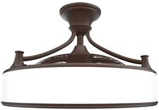 Anderson 22 in. Indoor Outdoor Bronze Ceiling Fan with Light Home Décor Design