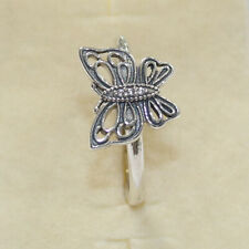 New Authentic Pandora Ring Butterfly 190901CZ Multiple Size W Tag & Suede Pouch