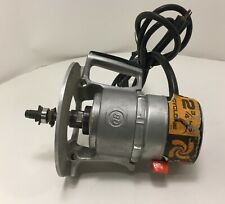BLACK & DECKER 445M TYPE A 2-3/4 HP ROUTER MOTOR AND BASE VINTAGE 2.75HP