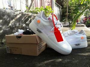 NIKE AIRFORCE 1 OFF WHITE SHOES