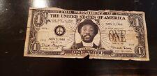 VINTAGE 1968 DICK GREGORY FOR PRESIDENT DOLLAR BILL