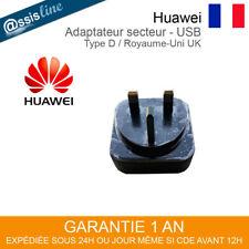 CHARGEUR ADAPTATEUR SECTEUR USB PRISE MURALE UK ANGLETERRE POUR IPHONE GALAXY S