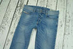 DIESEL SAFADO-R R2H48 Men's Denim Jeans REGULAR SLIM-STRAIGHT Blue RRP £140